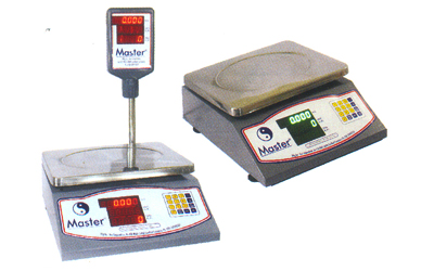 3 Display Price Computing & Piece Counting Scales